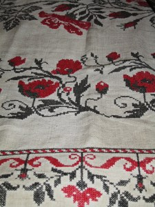 embroidered ruchnik