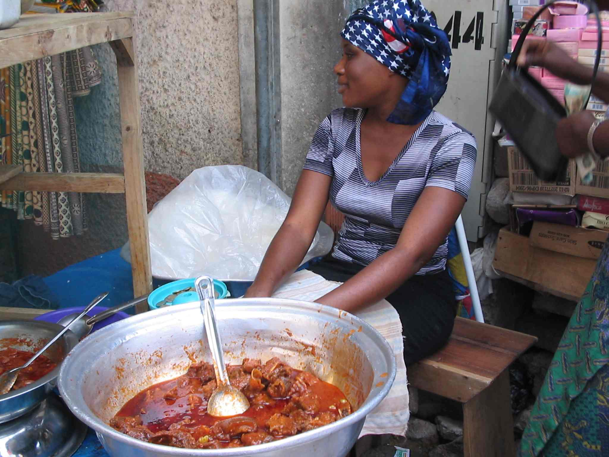 Surviving west africa top tips wendy quinn for Authentic african cuisine from ghana
